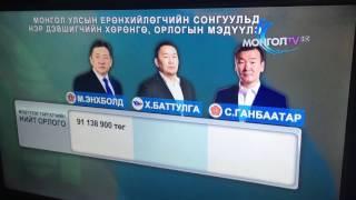 モンゴル大統領