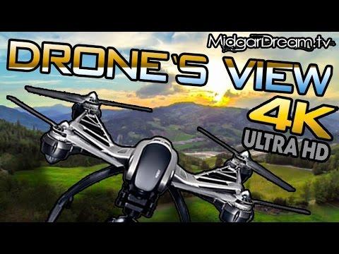 DRONE video in 4K UHD Resolution Parco dei Colli - Bergamo
