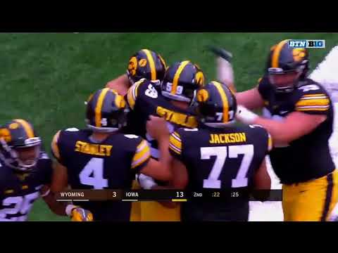 2017 Wyoming at Iowa Highlights