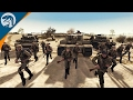 LARGE SCALE WWII ATTACK IN DESERT | ITALY MOD | Men of War: Assault Squad 2 [MOD] Gameplay