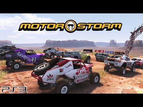 Motorstorm - Ps3 Gameplay (2007)