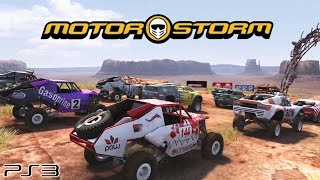 Motorstorm - Ps3 Gameplay (2007)