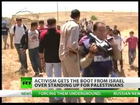Free Palestine: Israel boots activists out over standing up for Palestinians