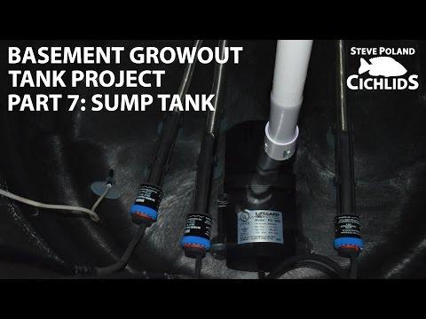 (7 Of 8) Basement Growout Tank Project - Sump Tank