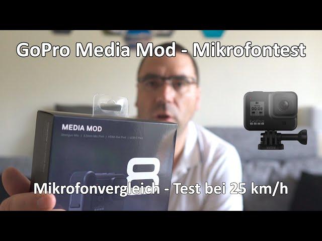 4k // Der erste Test - Media Mod für die GoPro Hero 8 - Mikrofonvergleich - Test auf dem Fahrrad