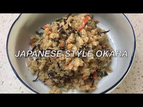 """""""OKARA"""" EASY Japanese style.. simple vegetarian healthy"""