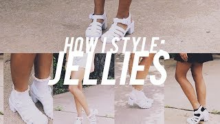 How I Style // Jelly Shoes
