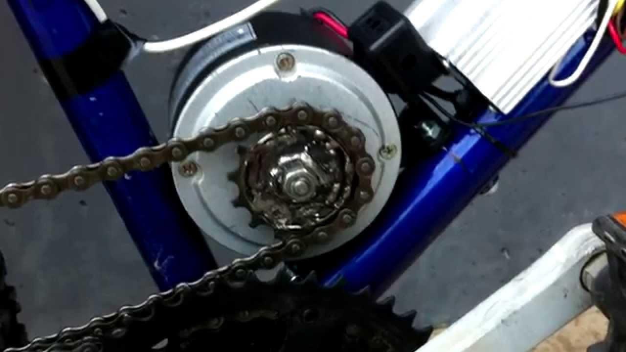 Bicicleta Elctrica Casera  YouTube