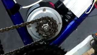 Bicicleta Eléctrica Casera