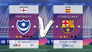 10 TEAMS YOU SHOULD USE FOR RTG CAREER MODES IN FIFA 18!!! | ft. Portsmouth, Barcelona B + More!