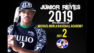 Junior Reyes OF 2019 Class From (Michael Morla Baseball Academy) Date video: 22.09.2018