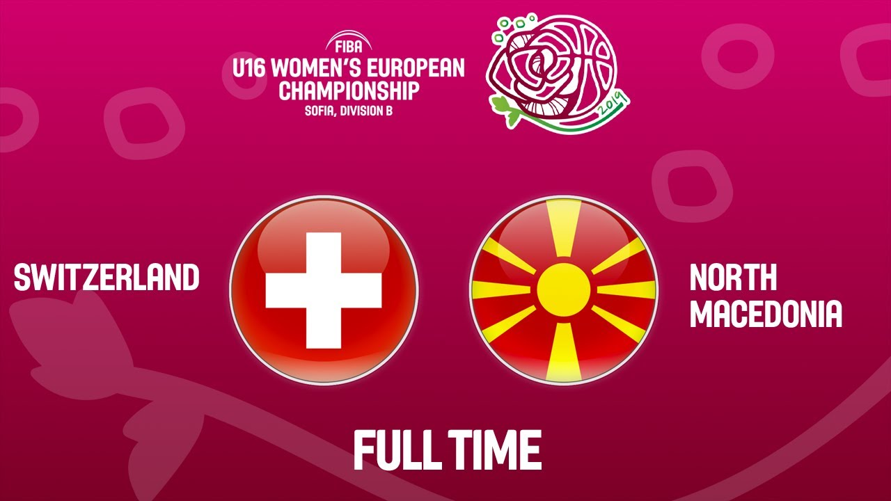 Switzerland v North Macedonia - Full Game - FIBA U16 Women's European Championship Division B 2019