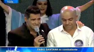 Soñando por cantar  - Luciano Pereyra cantó junto Fabio Santana, ex combatiente de Malvina