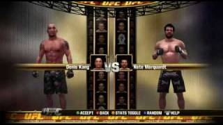 UFC 2010 Undisputed Roster Overview