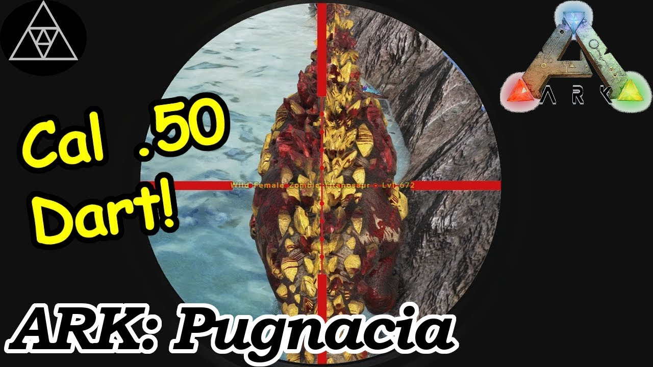 Modded ARK Pugnacia #43 Cal .50 Tranq Dart! Wir erkunden die Meere! Angler Gel & Bio Toxin! - YouTube