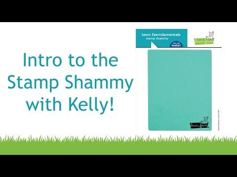 stamp shammy Lawn Fawn