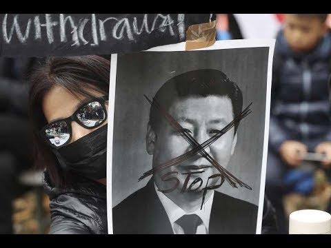《今日点击》香港充满暴力 这是林郑与习近平乐见的