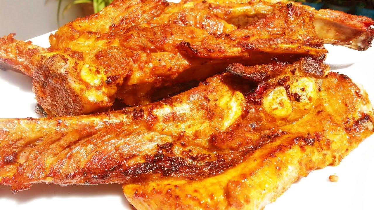 Cocinar costillas de cerdo al carbon facil y sencillo for Facil de cocinar