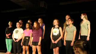 "A1 Girls sing ""When I Close My Eyes"" by Jim Papoulis"