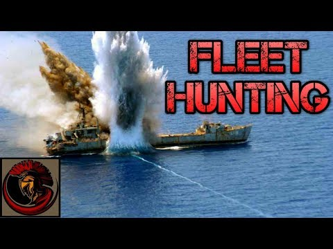 Cold Waters Gameplay | FLEET HUNTING