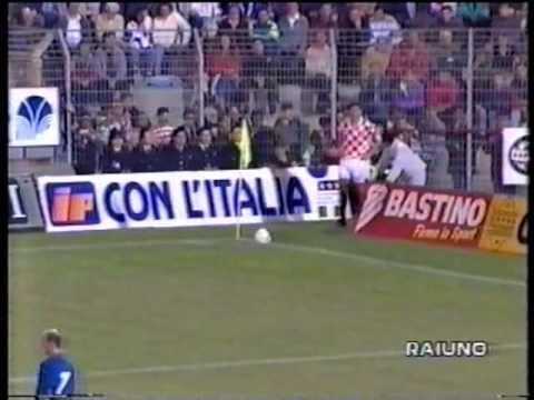CALCIO ITALIA CROAZIA 1 2 A PALERMO 1994