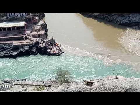 DevPrayag - Sangam of Alakhnanda & Bhagirathi Rivers - 2017 May 11th.