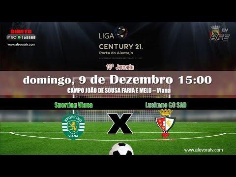 Liga CENTURY 21 Porta do Alentejo, 2018 2019, 10ª Jornada, Sporting Viana 1x1 Lusitano GC SAD