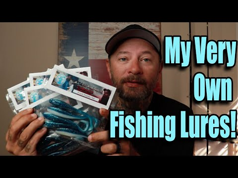 INTRODUCING: My Very Own Fishing Lures!