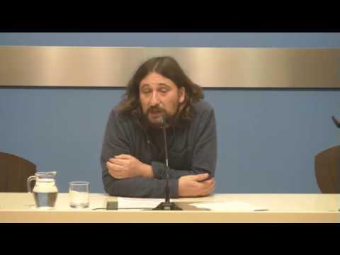 8 de febrero de 2018. Pablo Híjar comparece tras Consejo de Zaragoza Vivienda