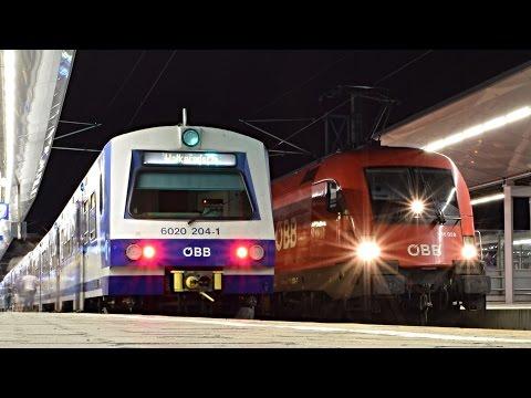 Züge Wien Meidling (20:00 - 24:00), SOMMER 2016