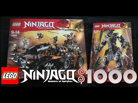 Ninjago: Season 9 Sets AVAILABLE NOW (NOT WORTH IT...)
