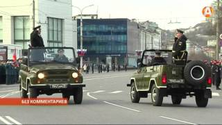 В Мурманске состоялась первая репетиция Парада Победы 05.05.2016(, 2016-05-05T12:44:02.000Z)