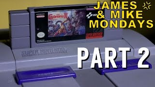 Super Castlevania IV (SNES Video Game) Part 2 - James & Mike Mondays