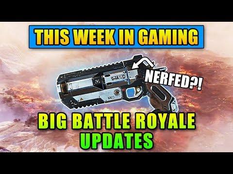 BIG Battle Royale Updates - This Week In Gaming | FPS News
