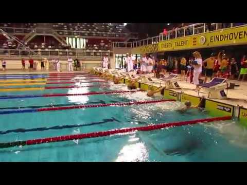 2017 Netherlands Invitational Eva Pet 50 Backstroke lane 4 Gold Seniors