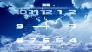 Часы Первый канал со звуком часов Мир сериала,телеклуб,детский мир