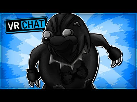 BLACK PANTHER UGANDAN KNUCKLES! - Wakandan Knuckles (VRChat Funny Moments)
