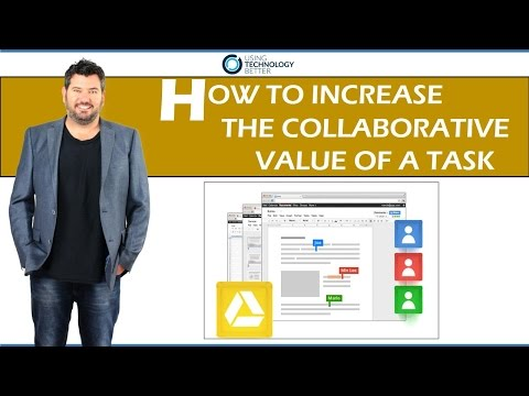 How to increase the collaborative value of a task