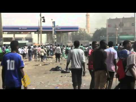 Harriet Martin reports on Sudan riots over fuel prices