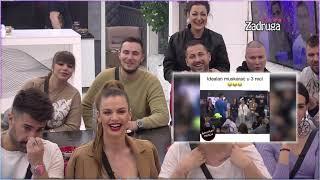 Zadruga 4 - Zadrugari gledaju smešne klipove (Miljana odnela šou) - 19.02.2021.