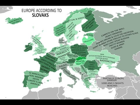 EUROPE ACCORDING TO SLOVAKS - funny stereotypes video