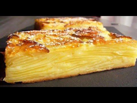recette-facile-et-délicieuse-:-gâteau-invisible-aux-pommes-sans-sucres-et-sans-lait