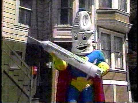BLEACH MAN - San Francisco's late 80s anti HIV/AIDS Super Hero!