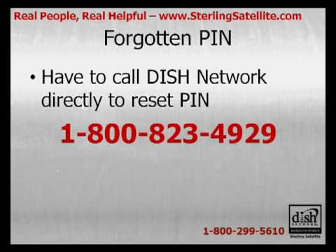 DISH Network PIN Recovery