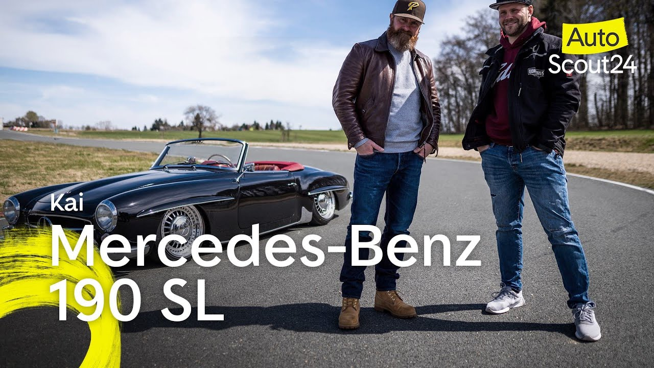 Mercedes-Benz 190 SL: Haute Couture für die Straße
