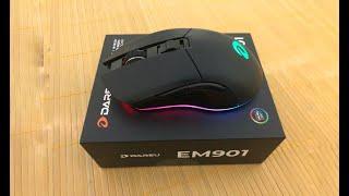 review chuột không dây EM901 DAREU - chuột gaming giá rẻ