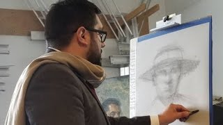 LIVE Drawing Demo at Hunter Museum of American Art - March 2017
