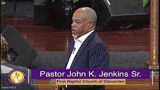 """""""The Weapons of Our Warfare"""" Pastor John K. Jenkins Sr. (BeBe Winans singing """"Oh It Is Jesus"""")"""