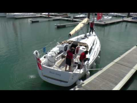 Boat Handling Clinic - Springing Off Using A Stern Spring