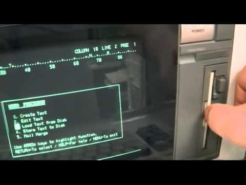 Panasonic KX-W1525 Daisy-Wheel Word Processor